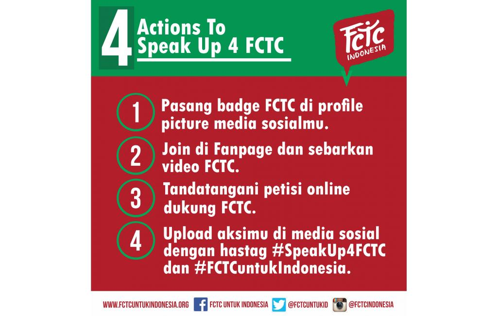 Tolak Jadi Target, Speak Up 4 FCTC!