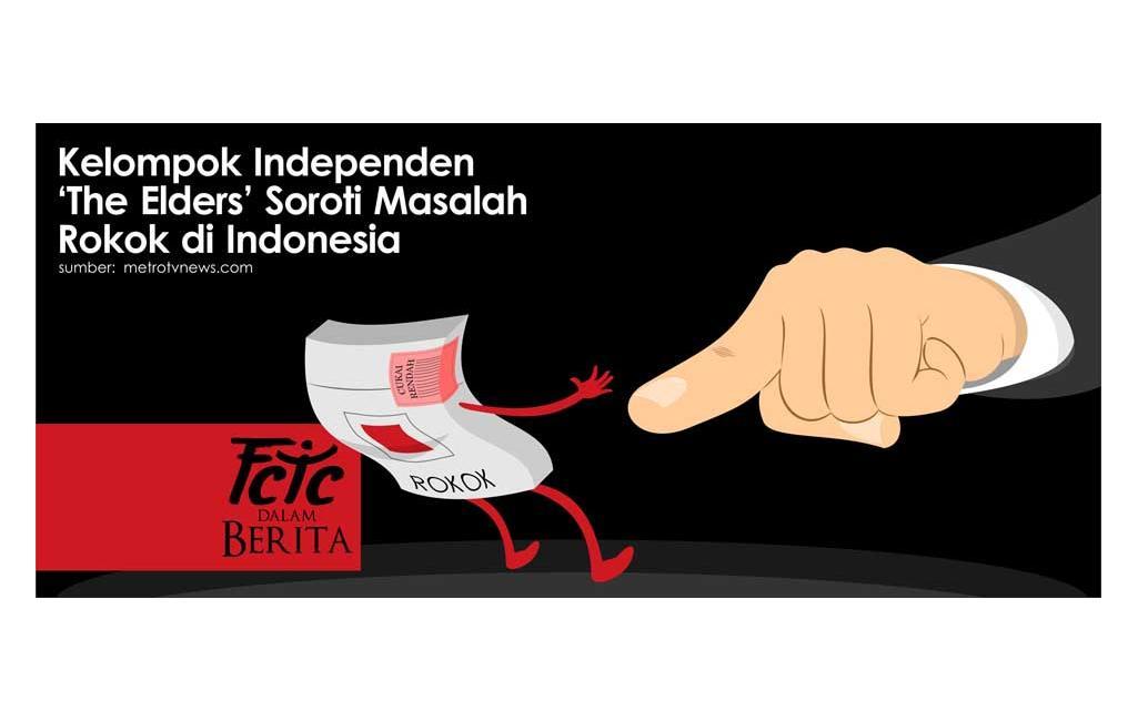 Kelompok Independen The Elders Soroti Masalah Rokok di Indonesia