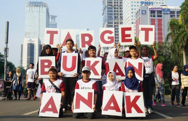 Funwalk Anak Nasional: Anak Bukan Target