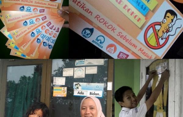 Aksi Kreatif: Edu-Advokasi Kawasan Rumah Tanpa Asap Rokok (KRTAR)