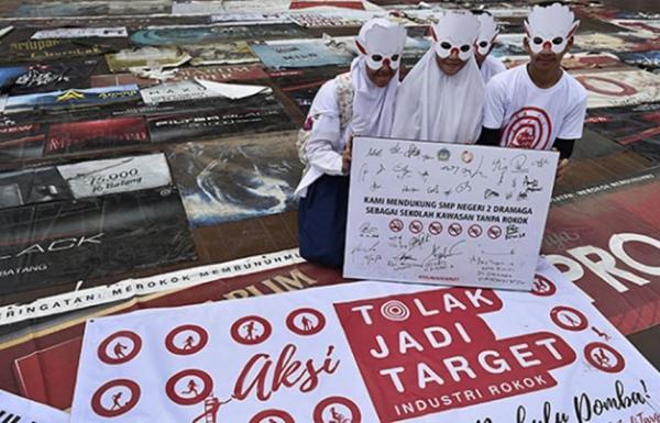 Indonesia Tertinggal Soal Regulasi Iklan Rokok