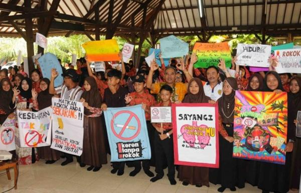 Deklarasi Sekolah Bebas Asap Rokok
