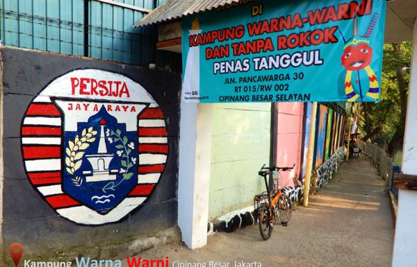 Kampung Warna Warni di Jakarta ini Tanpa Asap Rokok
