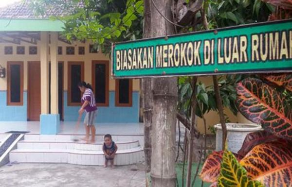 Desa Ini Buktikan Komitmen Bersama Dapat Stop Merokok.