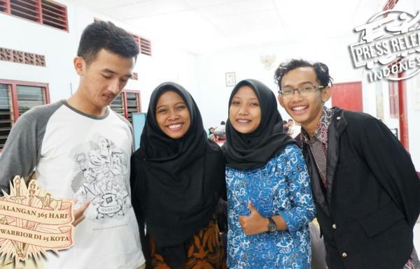 Sambut Hari Sumpah Pemuda, Warrior Yogyakarta Bertekad Kurangi Perokok Anak