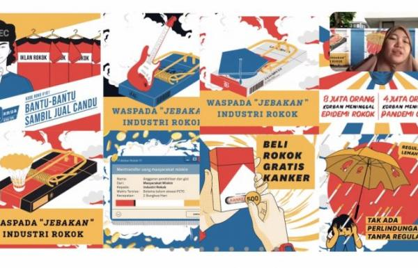 Berpesan Lewat Mural: Dorong Presiden Segera Sahkan Revisi PP 109/2012